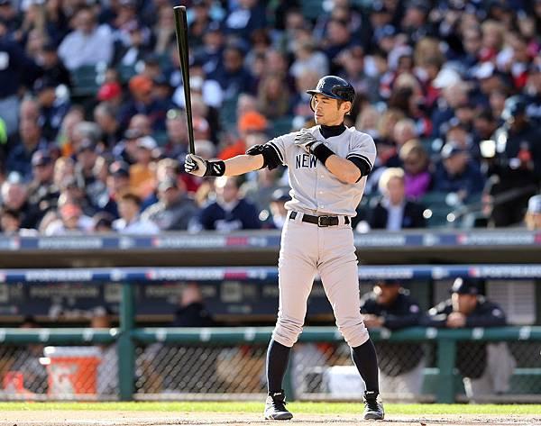 Ichiro+Suzuki+ALCS+New+York+Yankees+v+Detroit+dbBCBySO-ETx