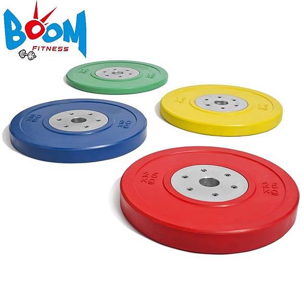 奧林匹克彩色包膠槓鈴片