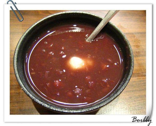 飯後甜點,紅豆湯