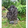牛山入口前的猴子