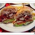炸雞柳三明治