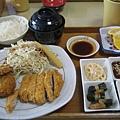 豬排+魚排套餐