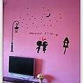 可愛的壁貼