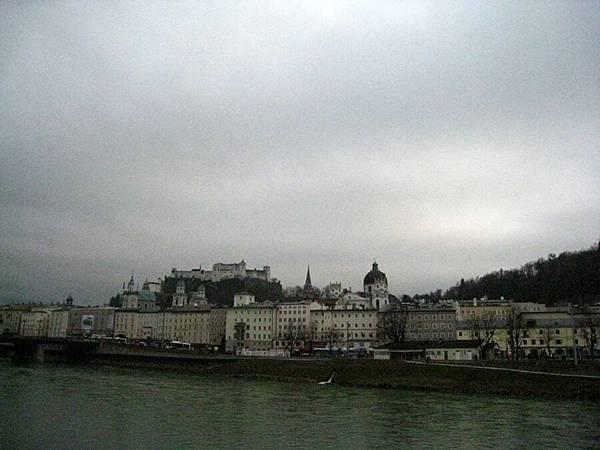 遠眺Festung Hohensalzburg薩爾斯堡城堡