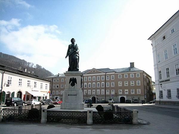 莫札特銅像