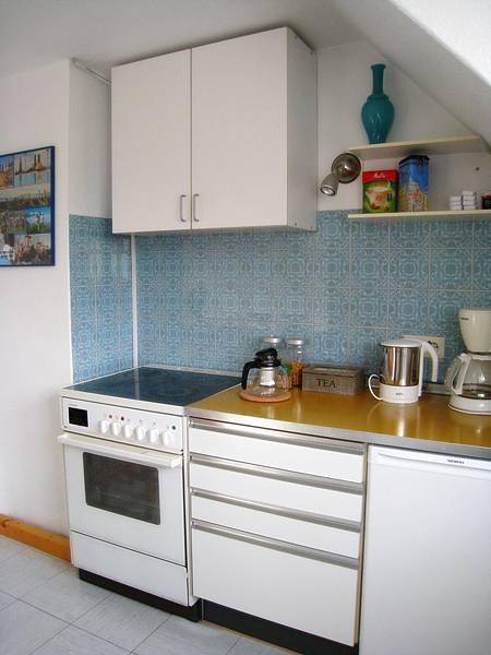 應有盡有的小廚房