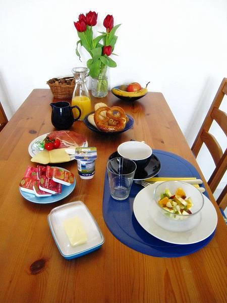 一日之計在於晨.好豐富的早餐