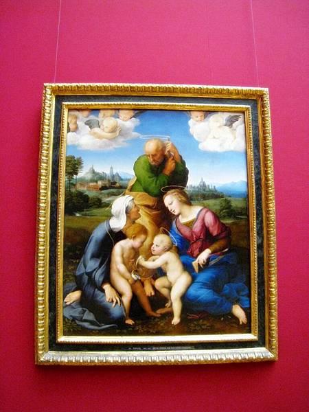拉斐爾的聖母畫像