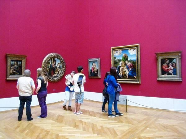 就是一整天都待在美術館也不覺得厭
