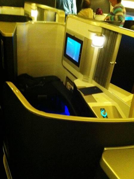 BA的商務艙很舒適