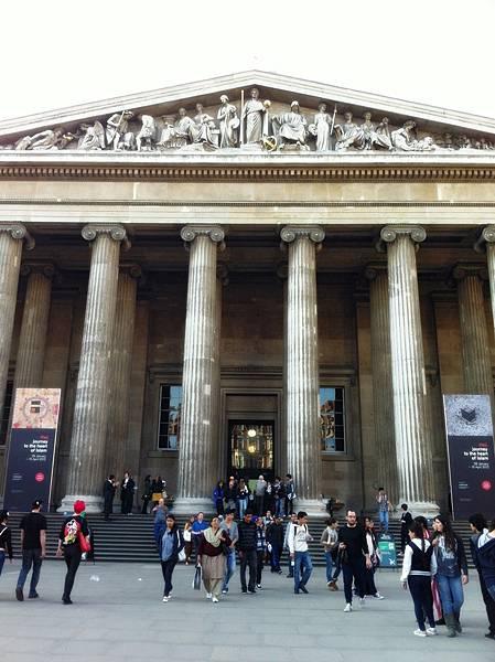 又來大英博物館