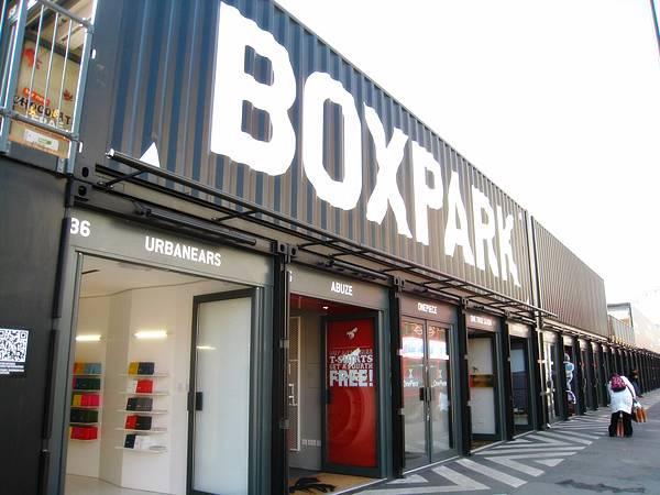 boxpark in bricklane