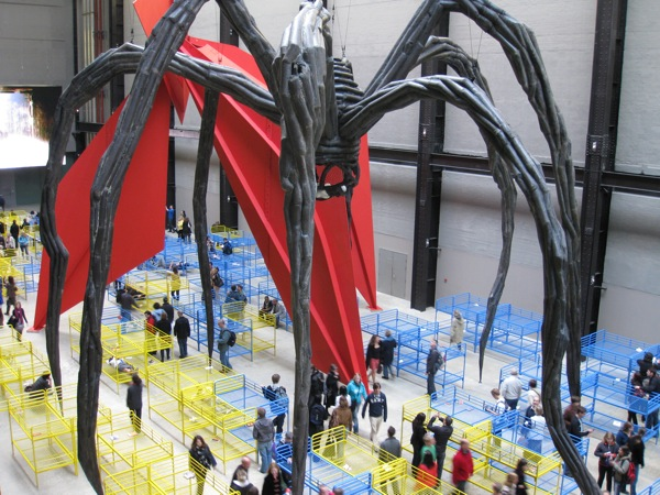 spider in Tate Modern