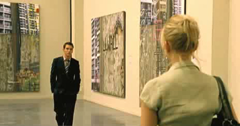 match point scene in Tate Modern