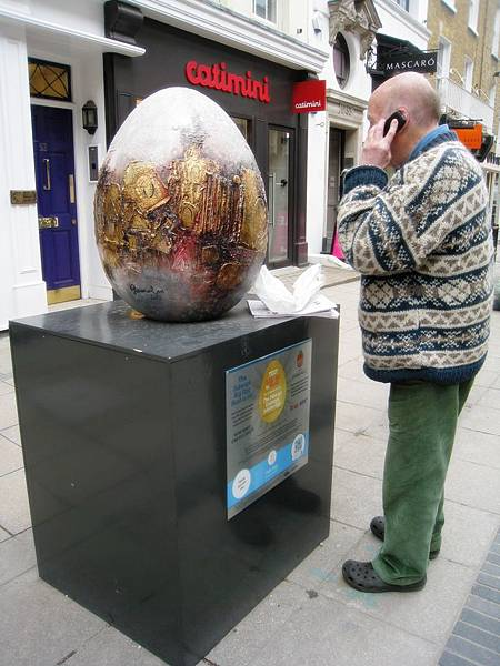 Easter egg in London
