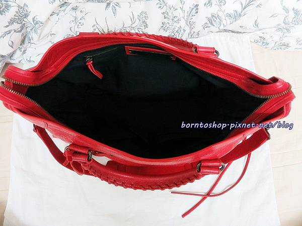 Balenciaga City Rouge Cardinal