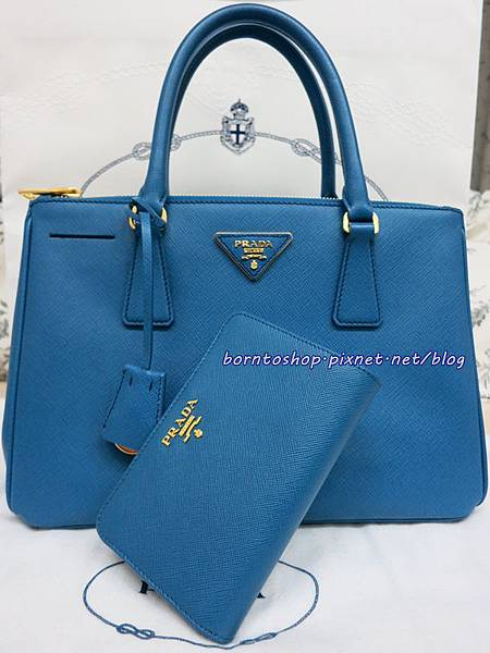 Prada Saffiano Wallet and Tote