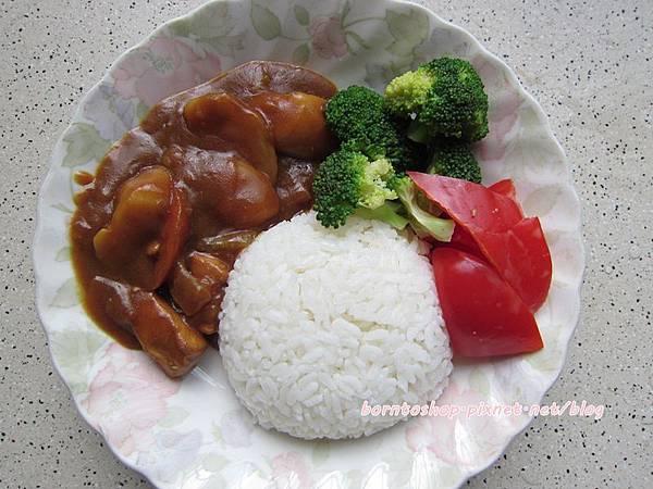 咖哩雞肉飯