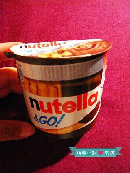 Nutella 手指餅乾