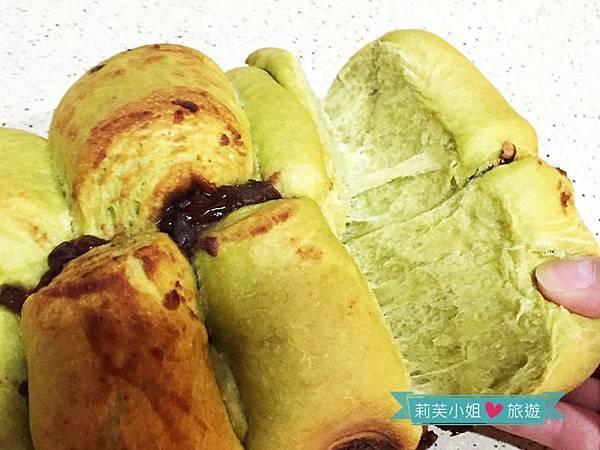 抹茶紅豆麵包