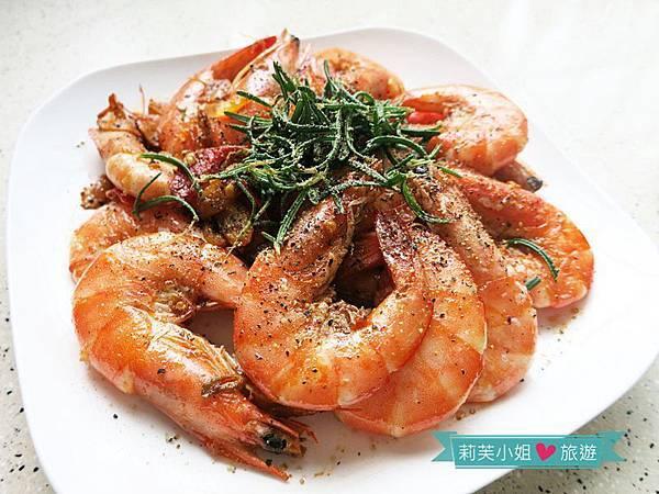 [食譜] 15分鐘快速上菜之橄欖油辣炒鮮蝦 (使用梅爾雷赫冷壓初榨橄欖油)