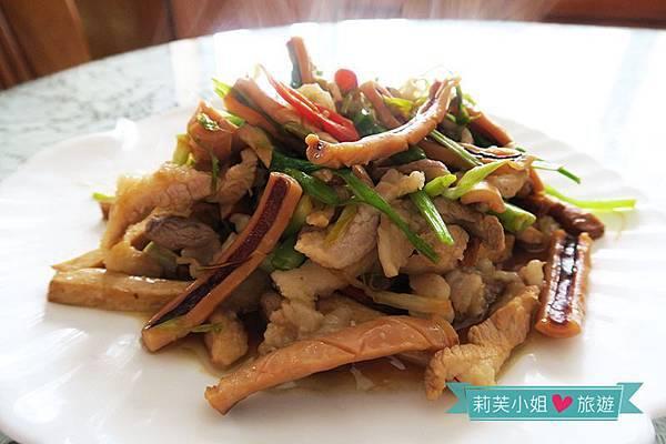 [食譜] 15分鐘快速上菜之開胃料理客菜小炒 (使用金美滿無糖醬油)