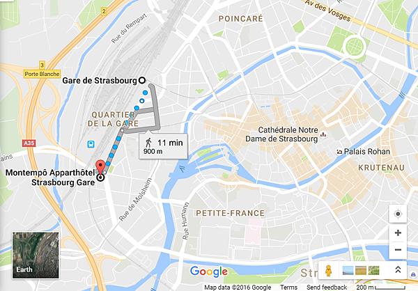 Montempô Apparthôtel Strasbourg
