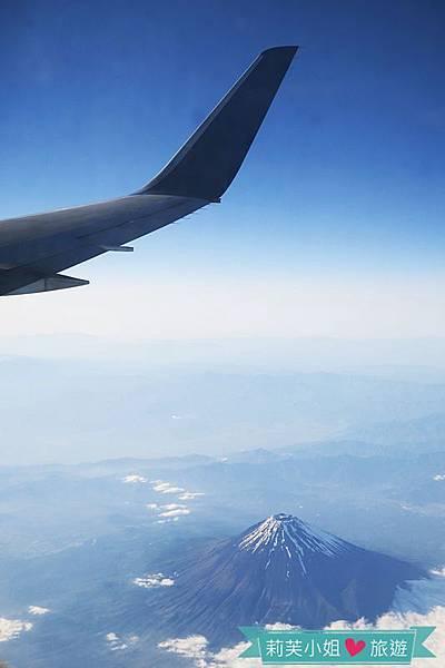 搭飛機看富士山