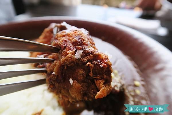炸雞肉咖哩