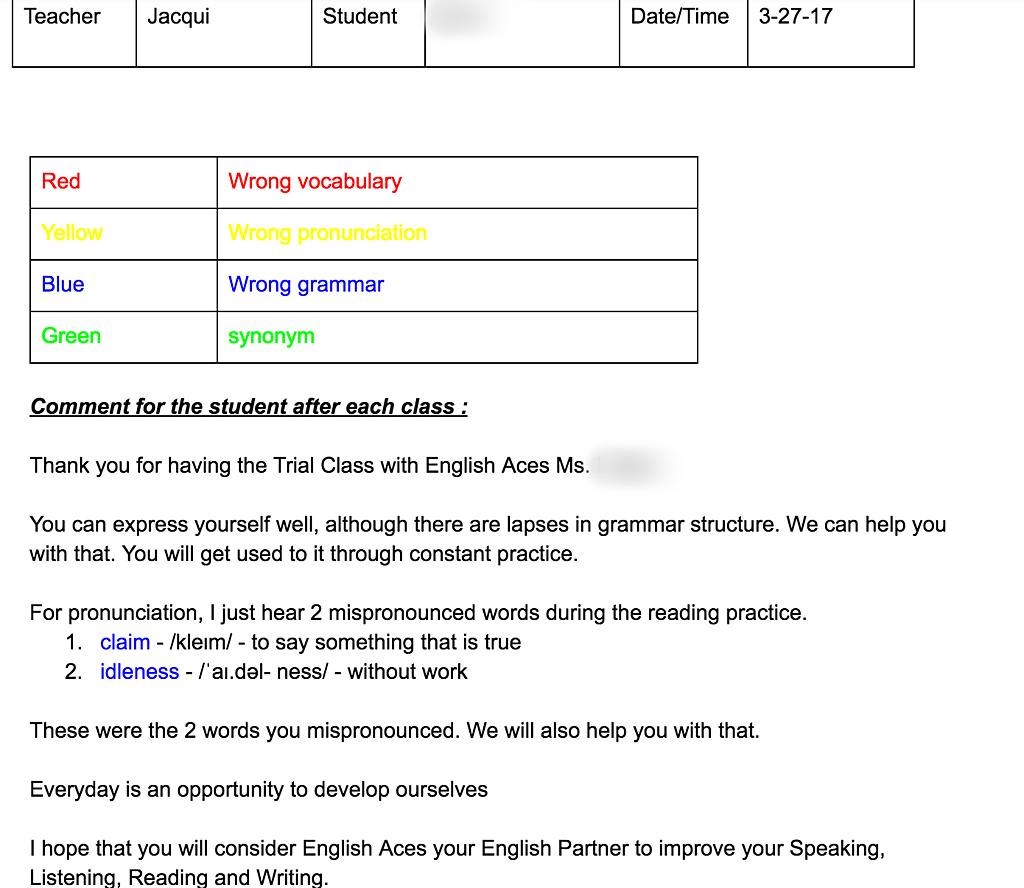 線上英語教學