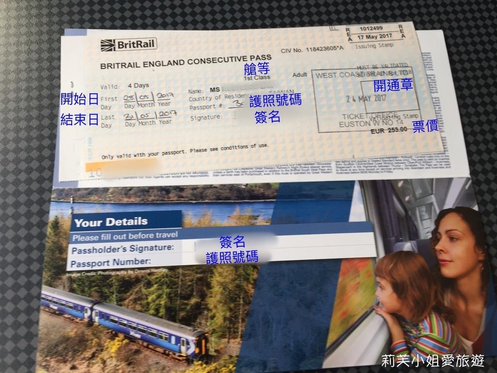 英國火車票