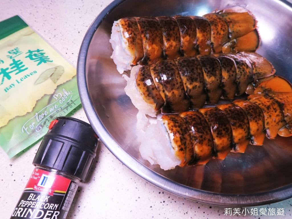 清蒸檸檬龍蝦
