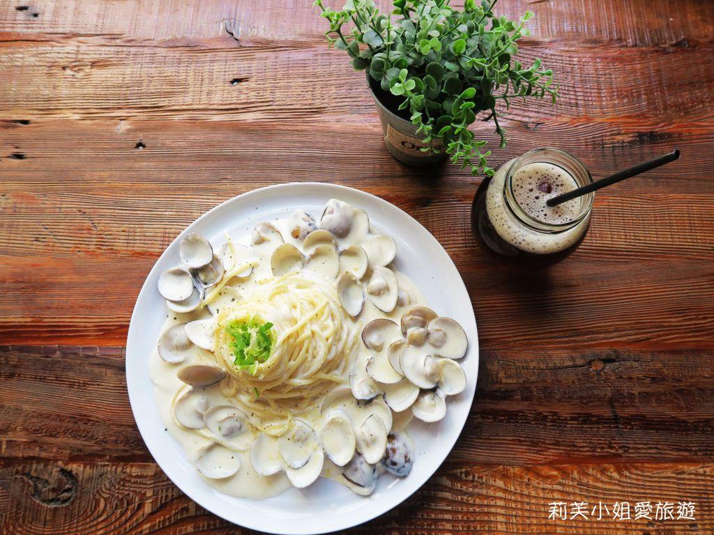 爆炸蛤蜊義大利麵