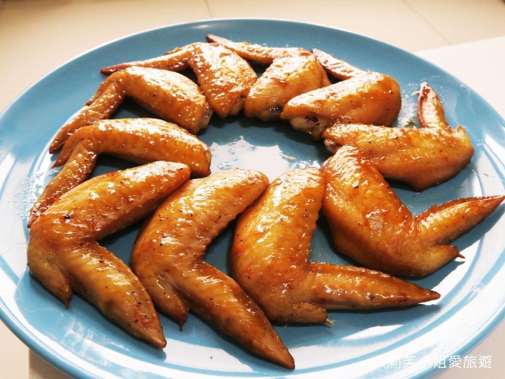 蜂蜜蒜味烤雞翅