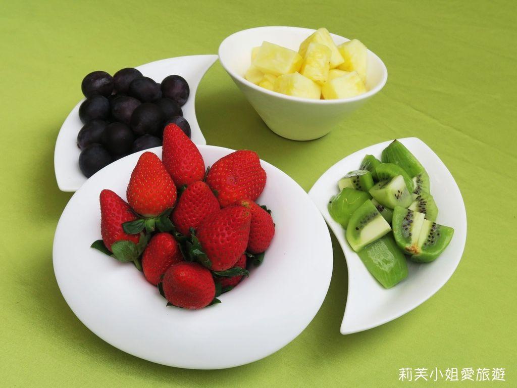 青青食尚花園試菜