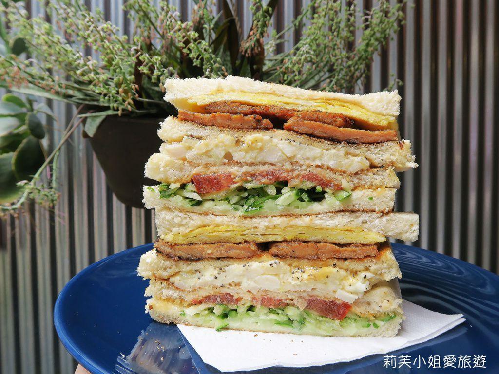 好遞食肉蛋炭烤三明治