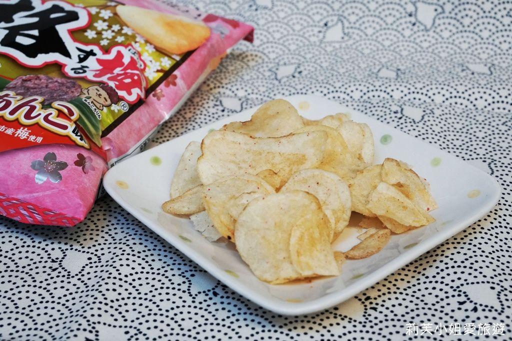 calbee 梅子洋芋片