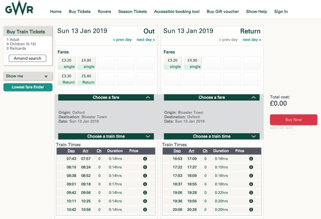 英國火車特價