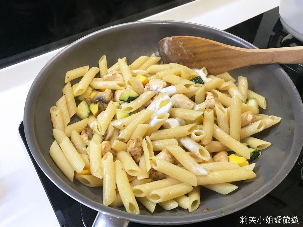 奶油雞肉義大利麵