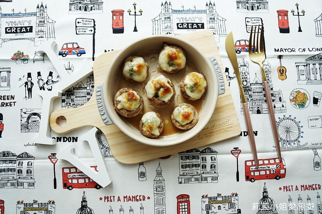 起司大蒜焗烤蘑菇