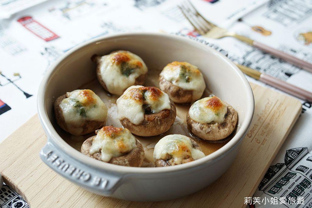 起司烤蘑菇