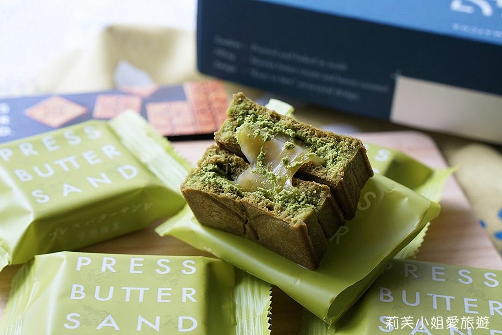 Press Butter Sand 抹茶