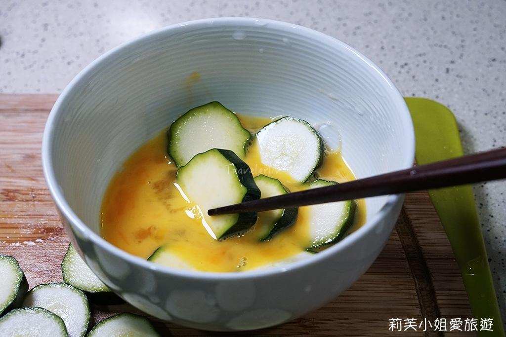 蛋液煎櫛瓜