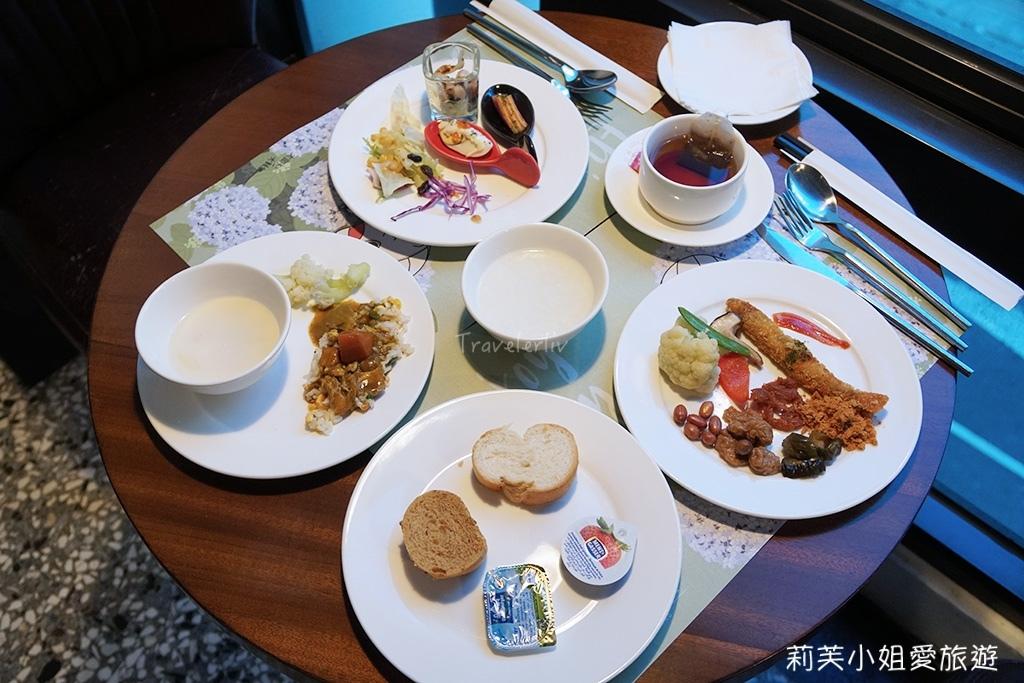 藍天飯店早餐
