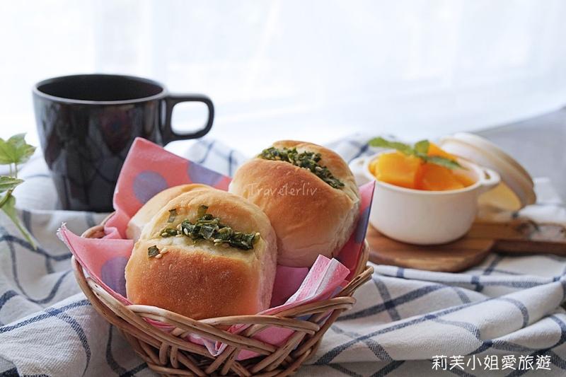 蔥花海鹽麵包