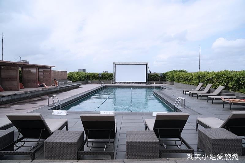 晶華酒店游泳池