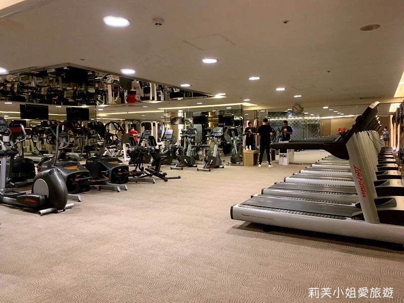 晶華酒店健身房