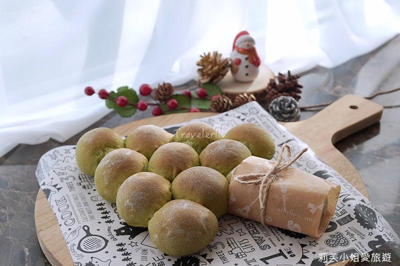 聖誕樹麵包