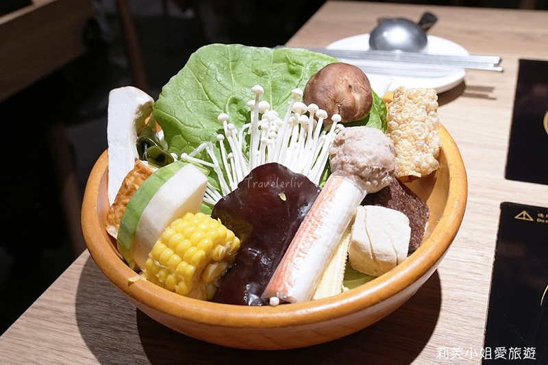 萬客什鍋菜盤