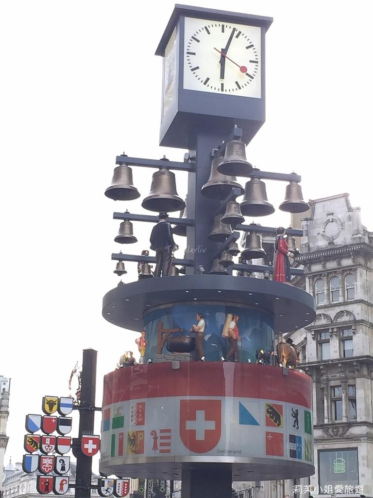 Swiss Glockenspiel clock